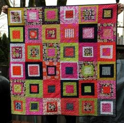 final flower quilt