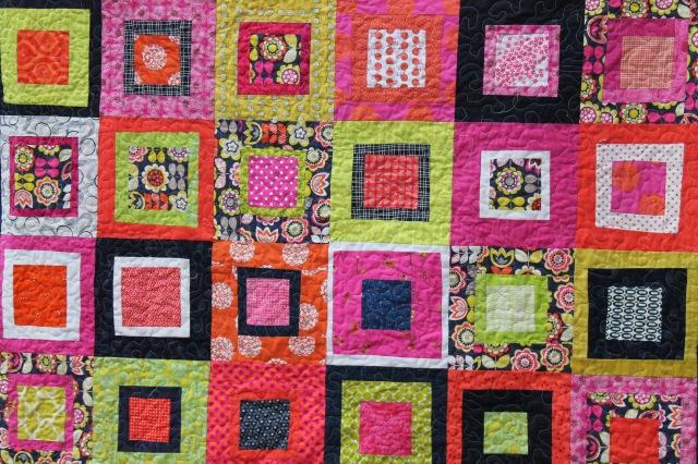 flower quilt detail