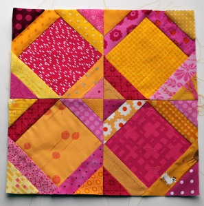paper piecing pattern stick something in the middle quilt block