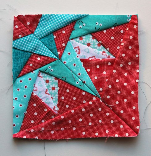 paper pieced block