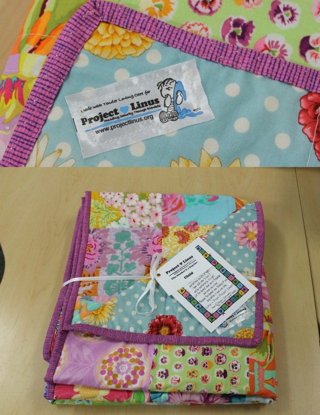 project linus quilt labels