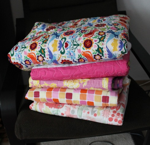 quilts deliver to Project Linus