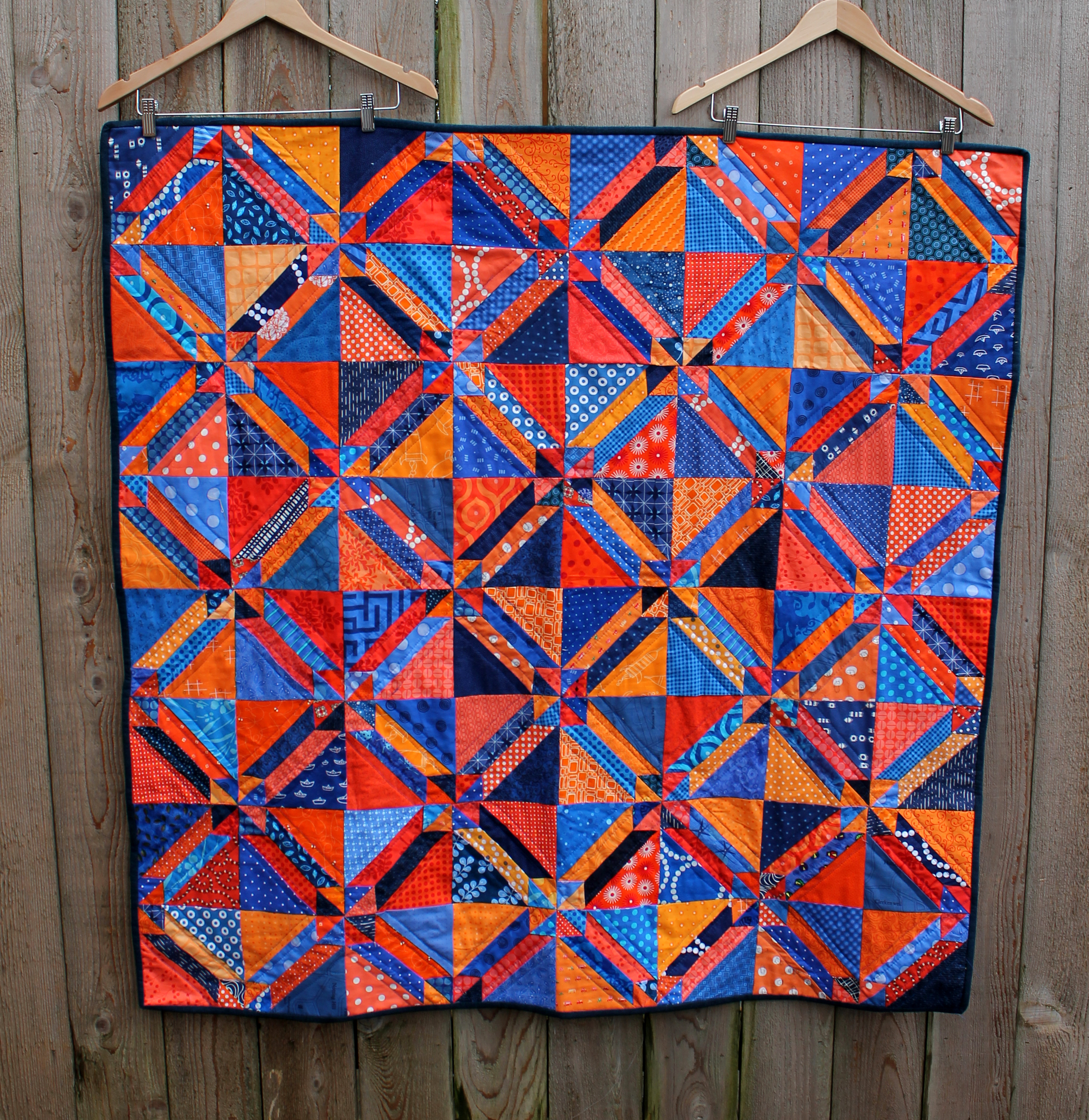 Free Traditional Quilting Patterns : Gretchen Quilt finished WOMBAT QUILTS