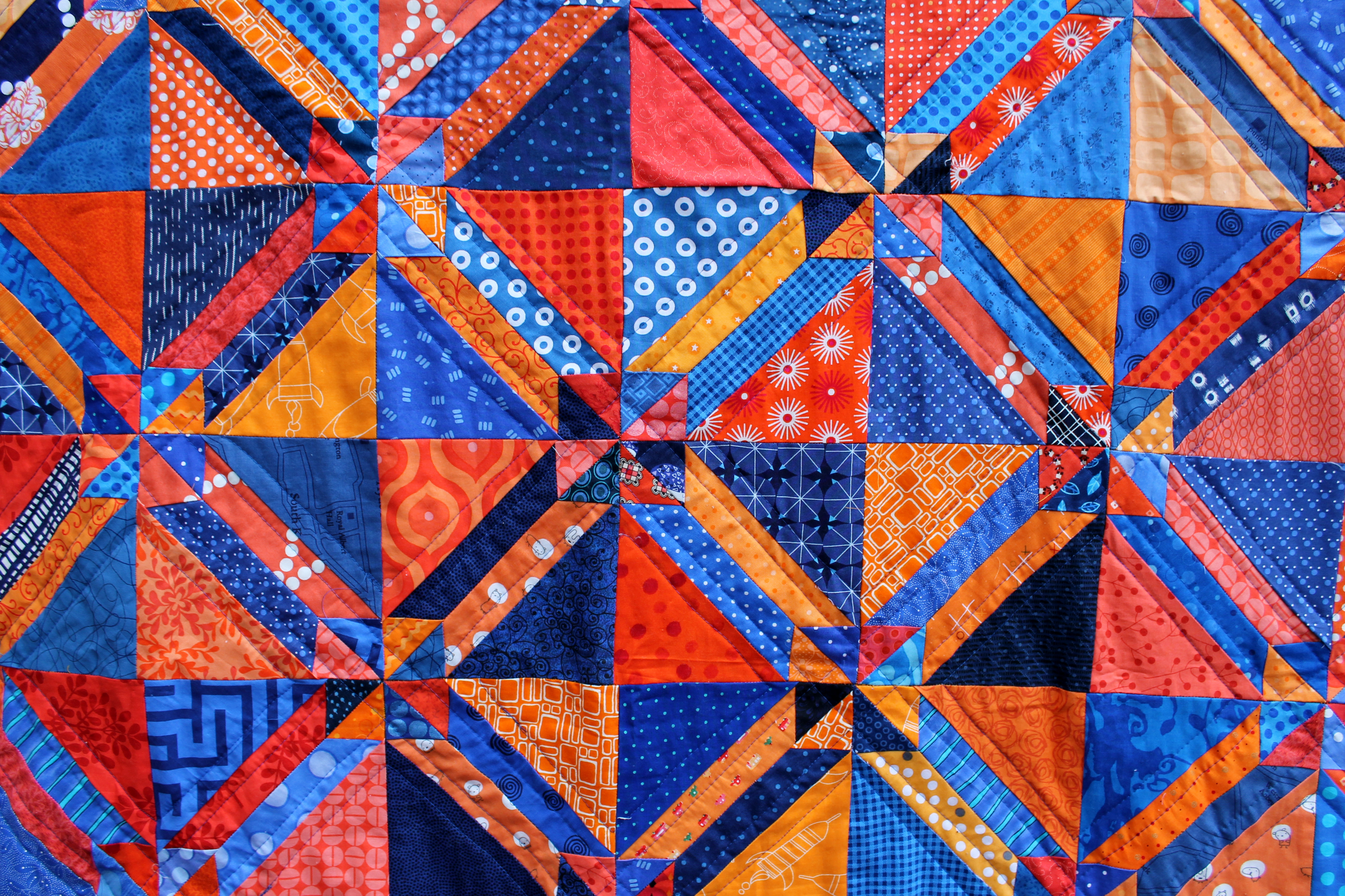 Gretchen Quilt finished | WOMBAT QUILTS