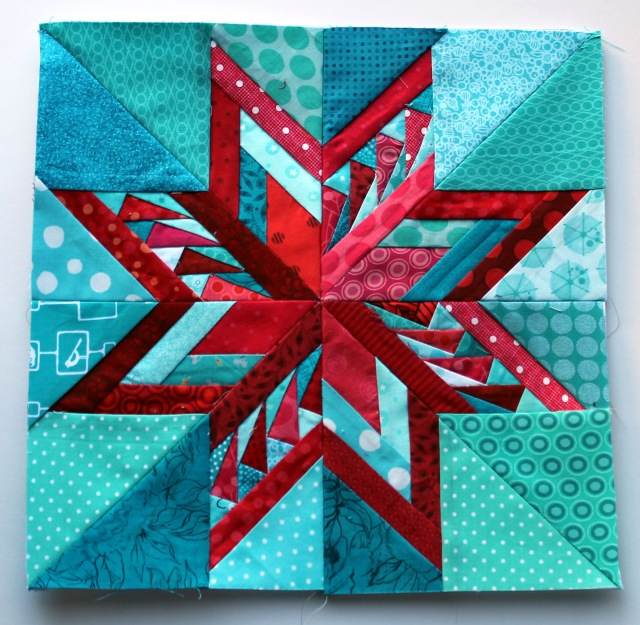 paper piecing star block 15