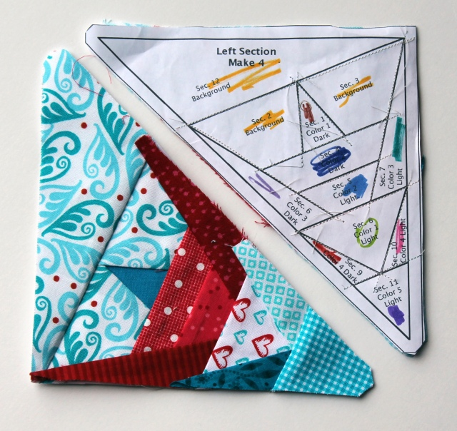paper piecing star pattern