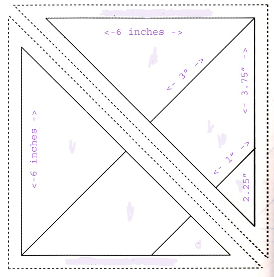purple aqua quilt pattern copy