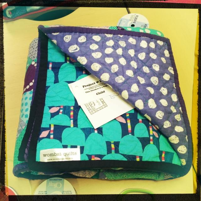 Project linus quilt