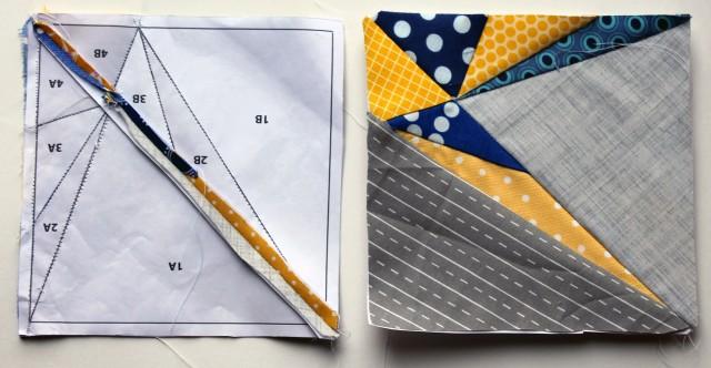 block 2 pattern pieces