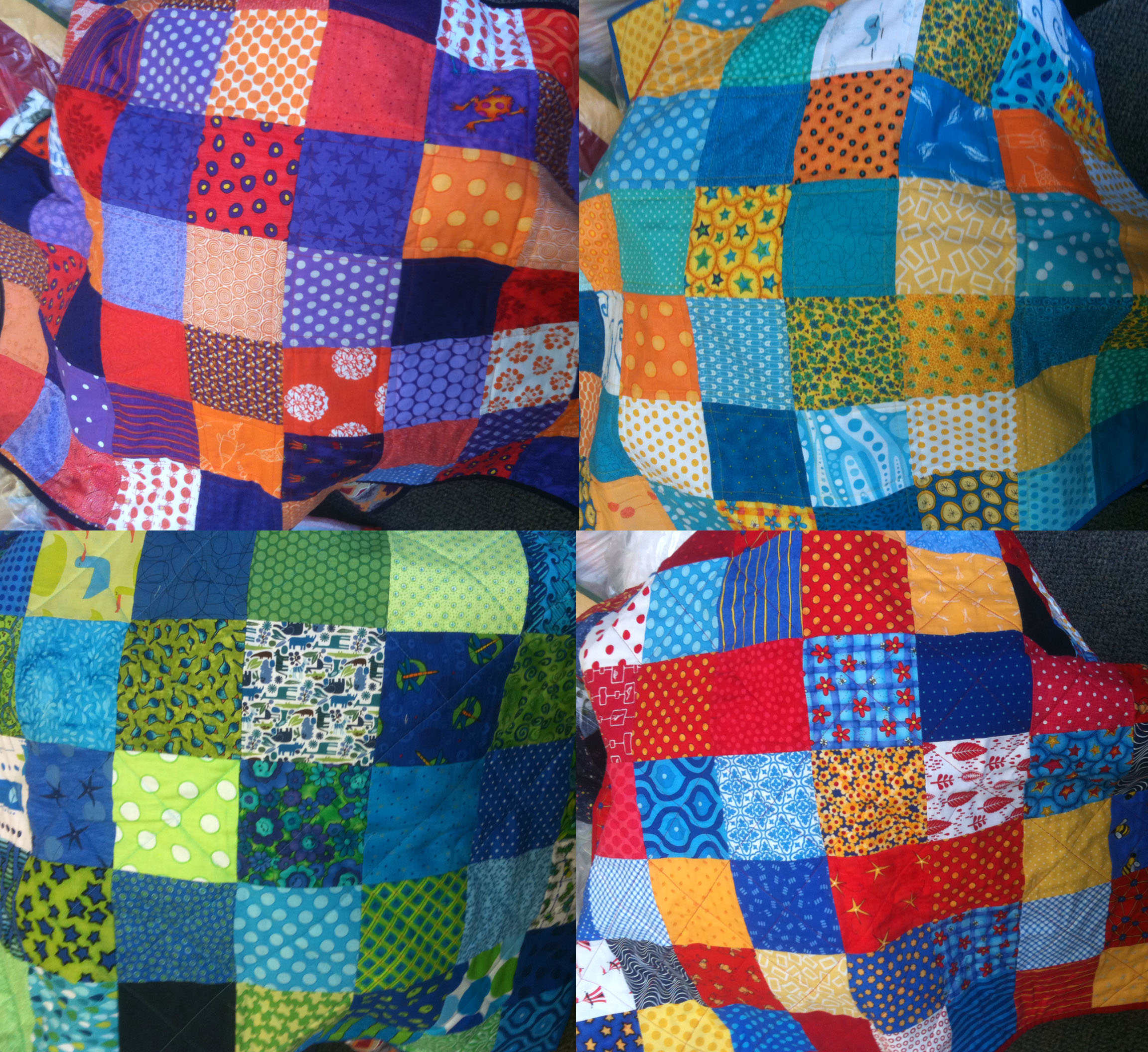 Quilt Patterns Using 12 Inch Squares : The joy of 5 inch squares. WOMBAT QUILTS