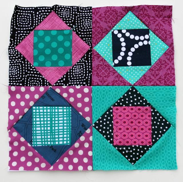 square in square quilt block