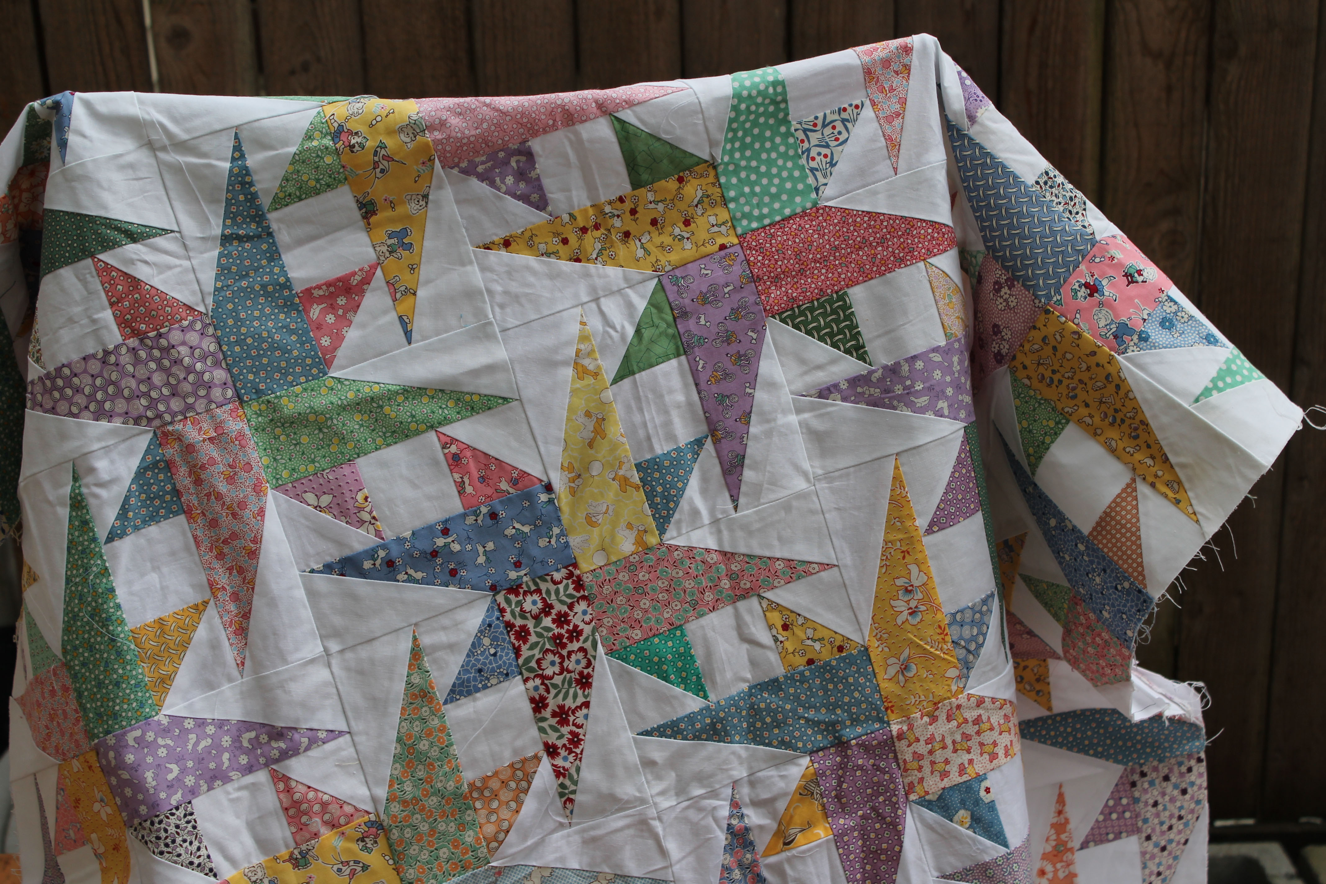 Taking stock wombat quilts