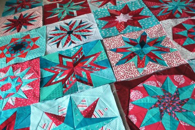 paper pieced stars