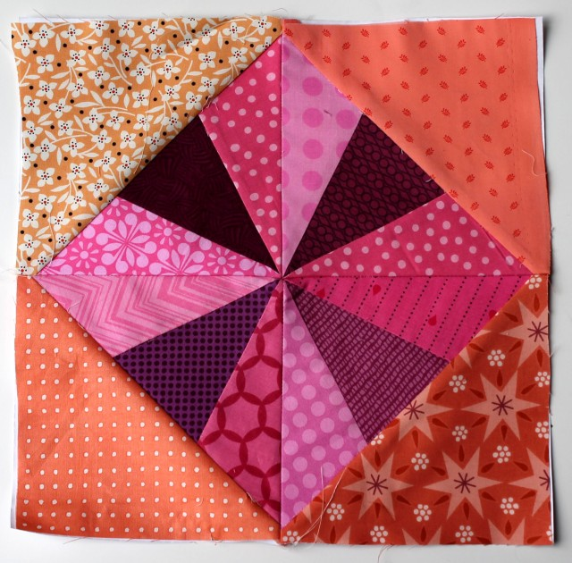 soft simple quilt block