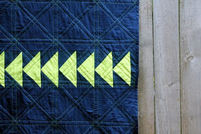 quilt back detail