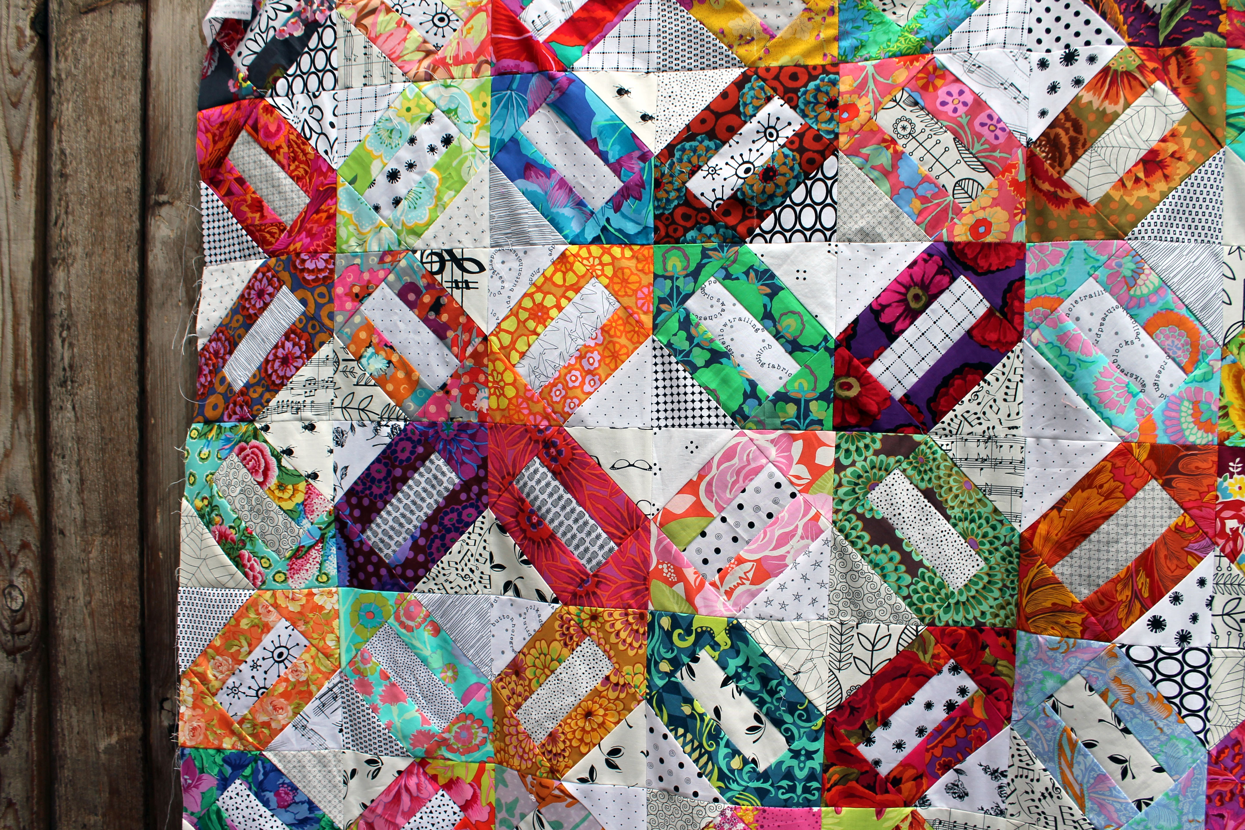 Quilt Patterns With Floral Fabric : ?kaffe fassett fabric? WOMBAT QUILTS
