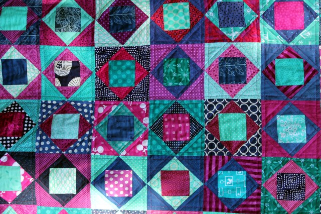 quilt top detail