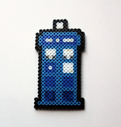 Paper Piecing Monday Tardis Edition Wombat Quilts
