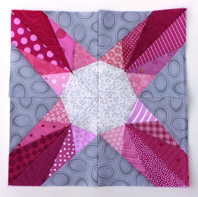 Morrison paper pieced quilt block