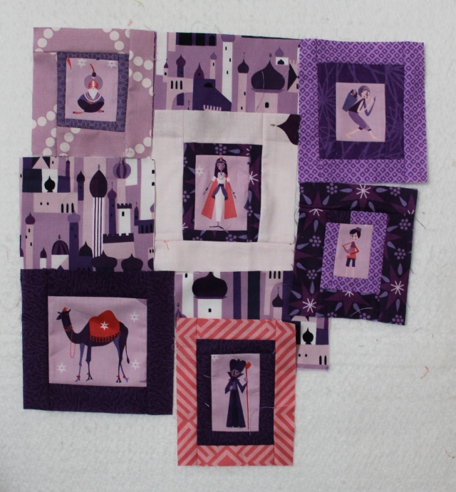 1001 Peeps doll quilt