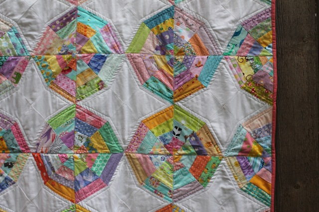spiderweb quilt detail 2