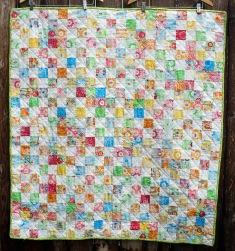 Mochi Yum squares quilt