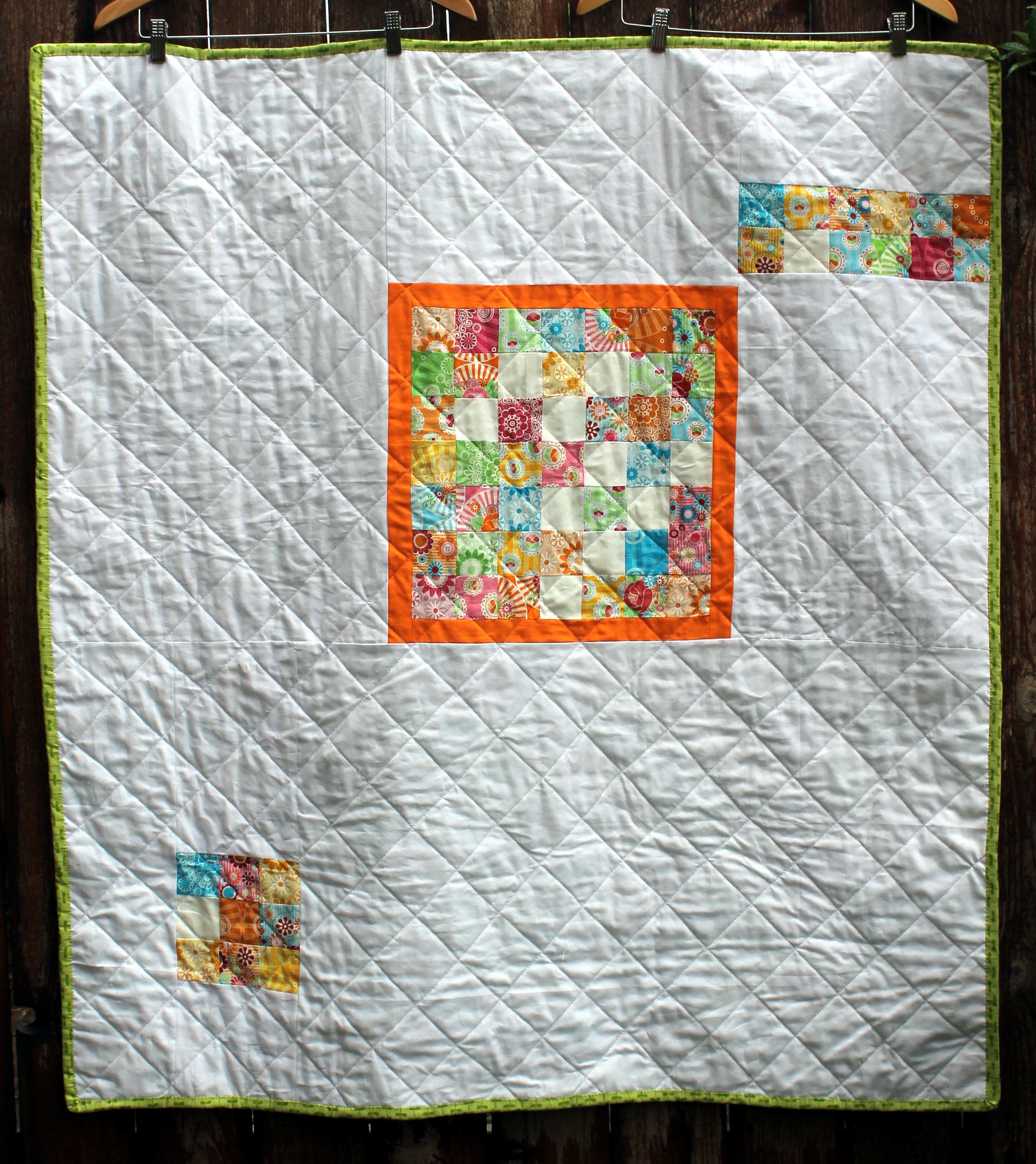 Yummy quilt back