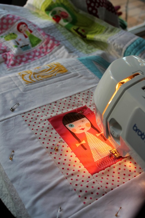 Applieville quilting
