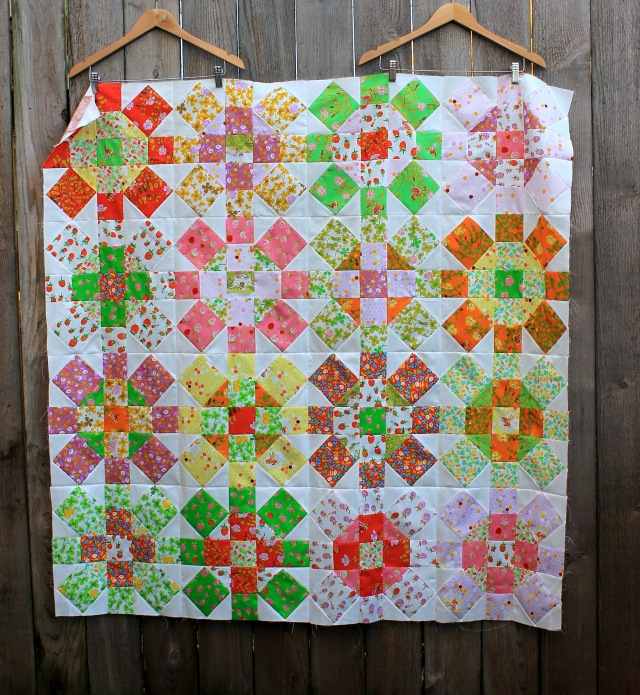 Heather Ross modern kids quilt