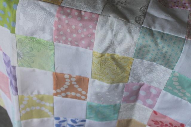 pastel quilt