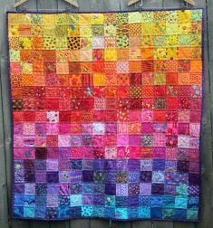 easy scrap novelty quilt