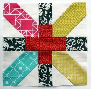 x plus quilt block