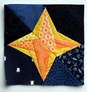 Braided star block 2