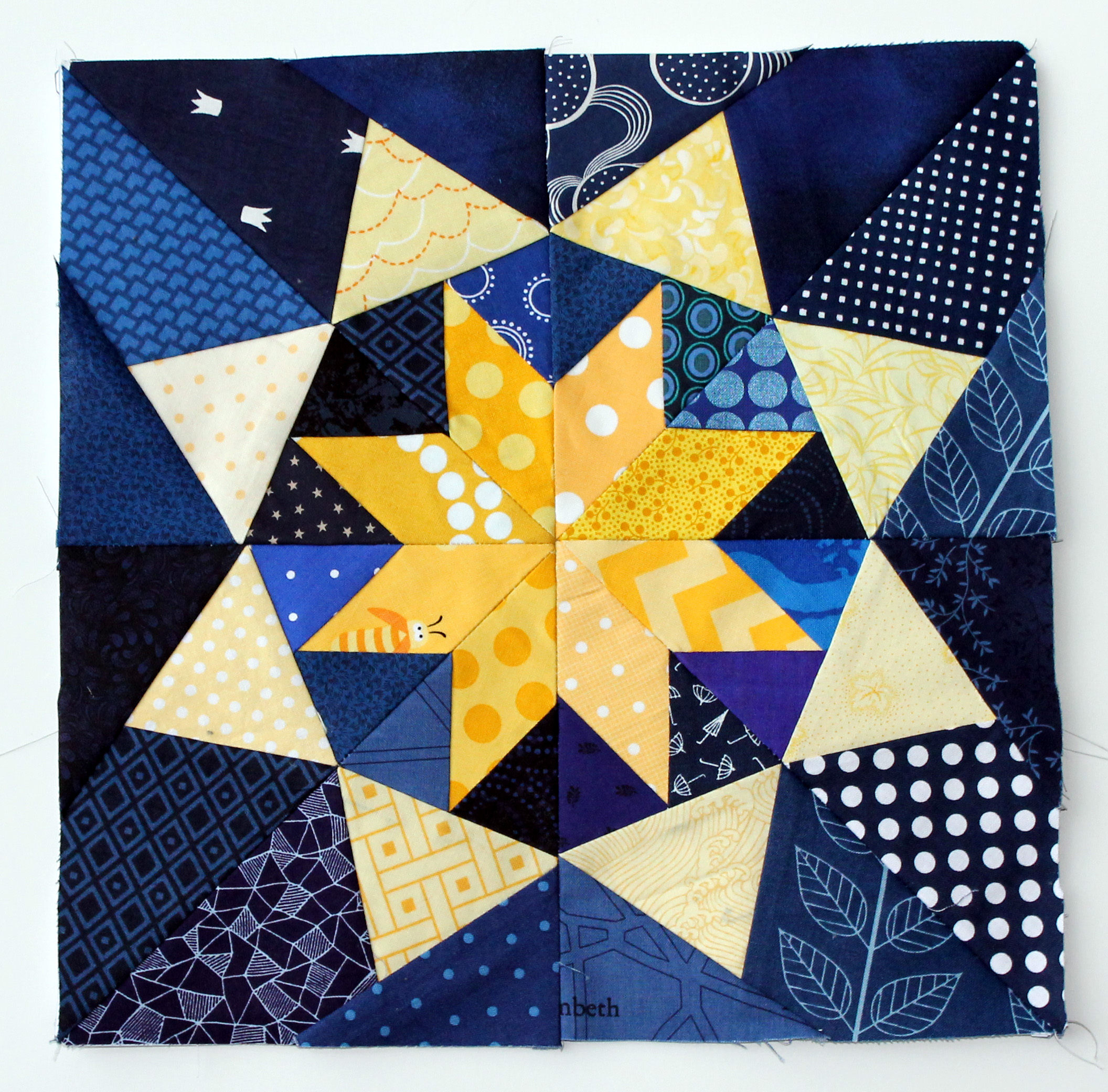 paper pieced quilt patterns Pieced quilt patterns take on a fun personality with geometric designs use your pre-cut stash and turn those layer cakes, jelly rolls, charm squares or fat quarters into a marvelous quilt.