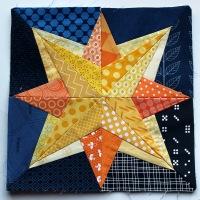Starry Nights grow - Paper Piecing Monday