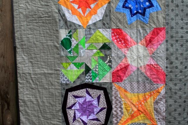 Block Rockn quilt detail 2