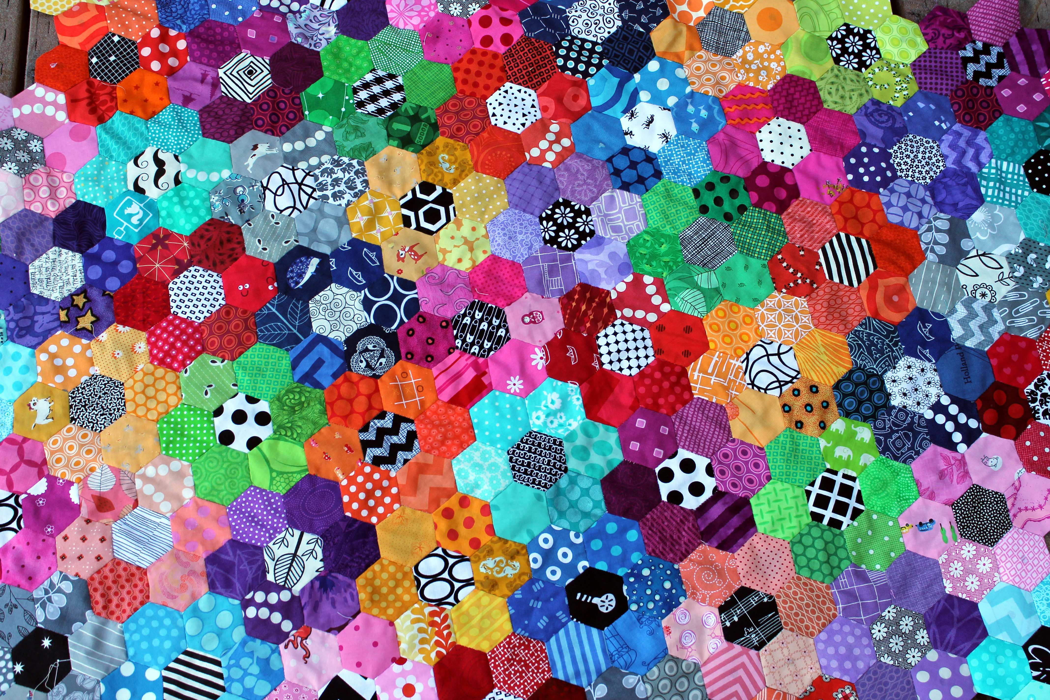 Hexagons Wombat Quilts