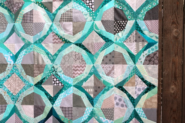 Icle quilt detail