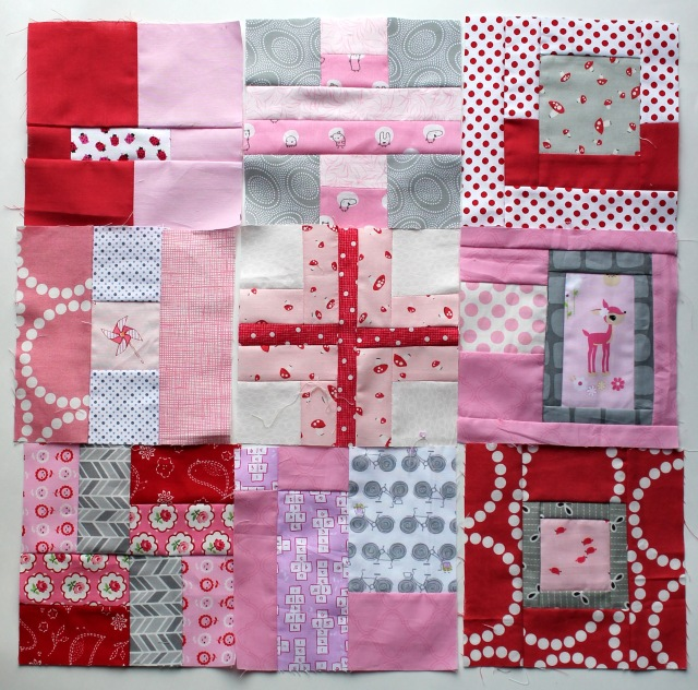 Tula pink city sampler blocks