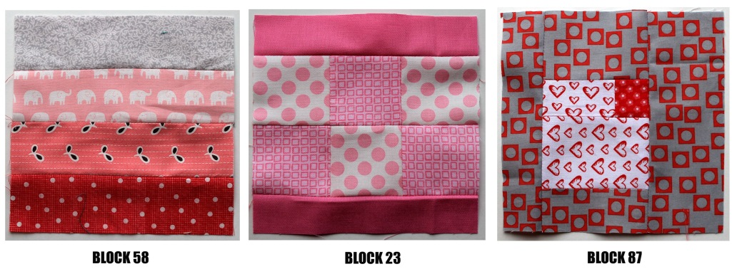 Tula Pink blocks 1