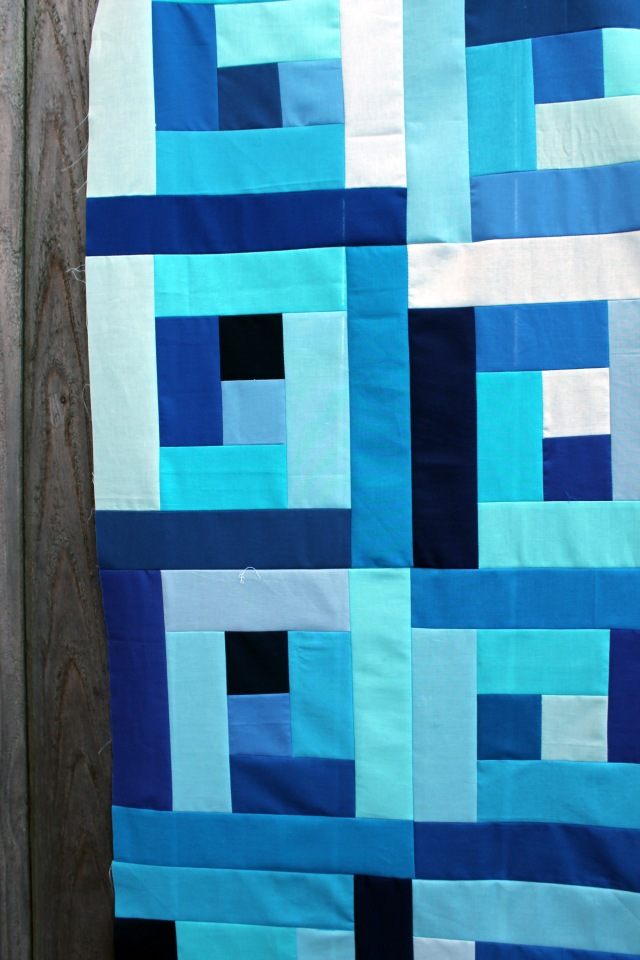 baby blue quilt detail 2