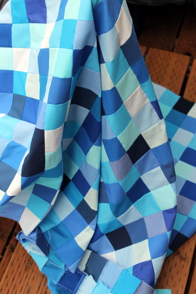 Christine quilt top 3