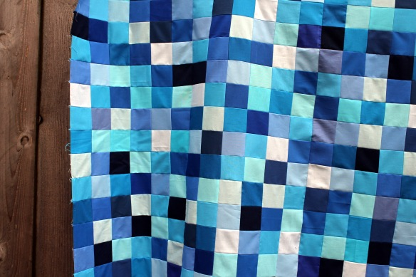 Christines quilt detail