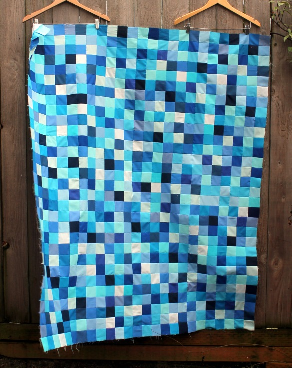 Christines quilt top