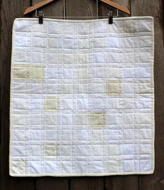 easy modern scrap quilt