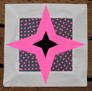 paper pieced star block