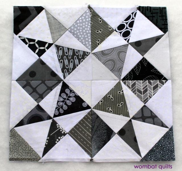 grey white block