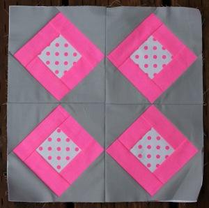 Neon squares block