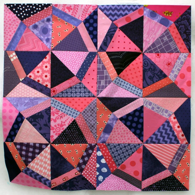 totally girly pinwheel blocks