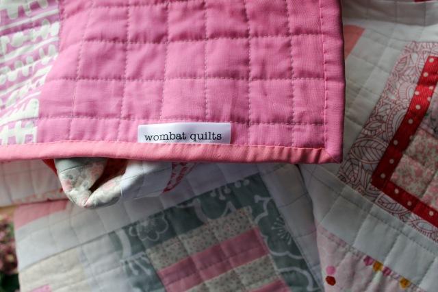 Tula pink binding